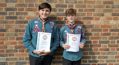 Chief Scouts Gold Award
